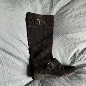 Nine West knee high suede boots